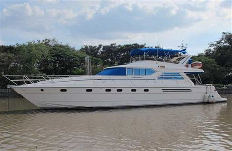 Yacht Boat For Sale Malaysia by Neff Yacht Sales Used 67 Foot Princess Yachts Princess
