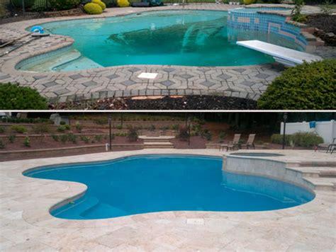 luxury pool remodel custom pool renovation houston