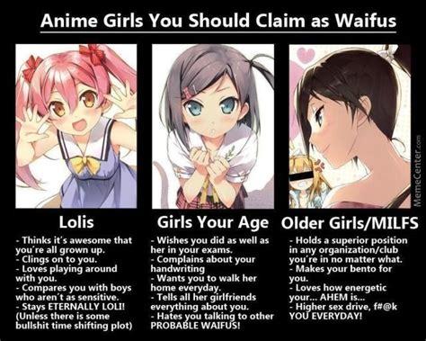 Waifu Memes - choose your waifu by yunogasai meme center