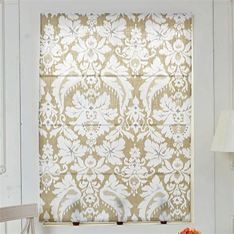 Top Finel Linen Cotton Window Treatments Roman Shades