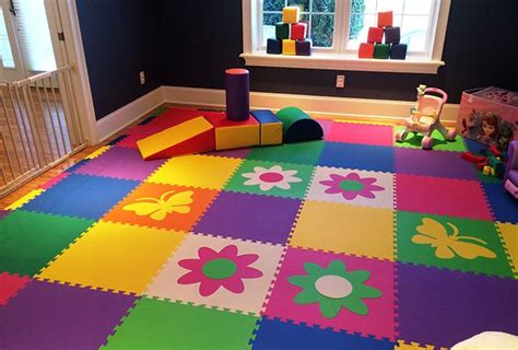 dalle de sol chambre chambre des enfants bien choisir le revêtement de sol