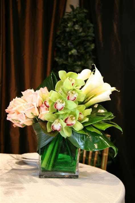 Flowers For Vases by The Modern Medium Height Floral Arrangement Is Designed