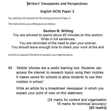 abouta step  step guide   writing question   aqa english language