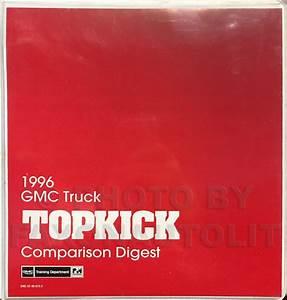 1996 Topkick  Kodiak  B7  P6 Truck Repair Shop Manual