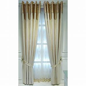 Beige damask jacquard poly cotton blend funky curtain for for Beige damask curtains
