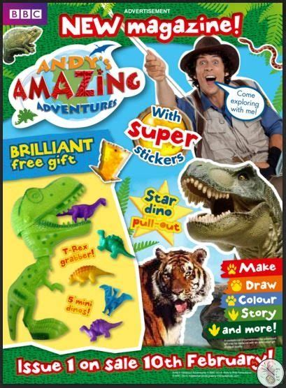 andys amazing adventures magazine review diary