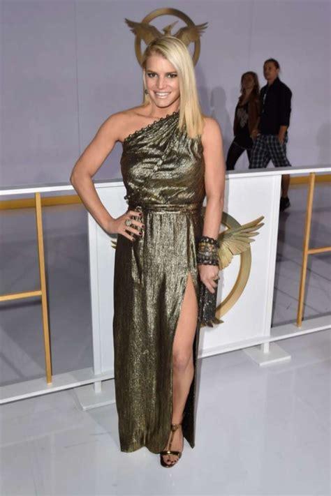 Jessica Simpson The Hunger Games Mockingjay Part 1 La