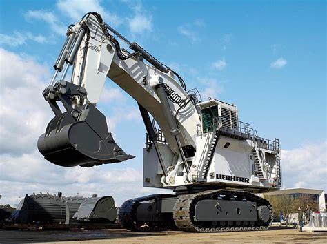 neuer  tonnen mining bagger liebherr   liebherr