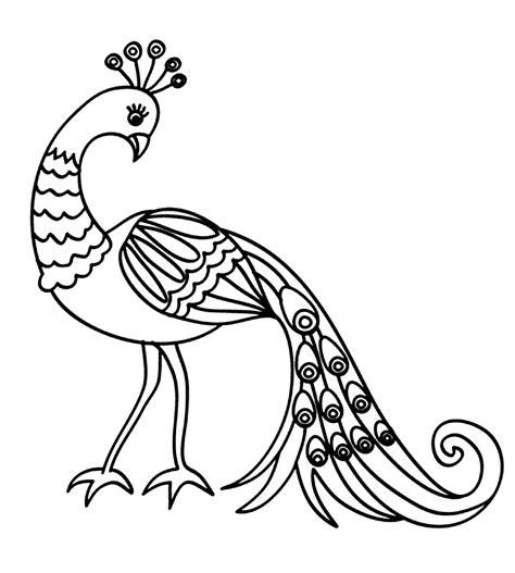 9 gambar mewarnai burung untuk anak paud dan tk