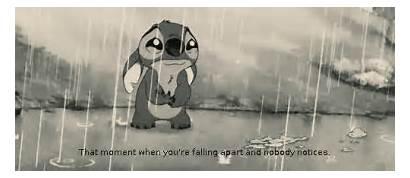 Falling Apart Cartoon Stich Stitch Gifs Sad