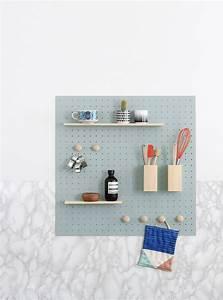 Rangement Mural Cuisine : mint magazine diy rangement mural cuisine heju ~ Preciouscoupons.com Idées de Décoration