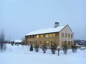 Ski Chalet With A Modern Interior Design Instead Classic Wood