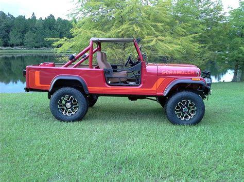 jeep scrambler pickup