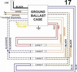 Advance Ballast Wiring Diagram