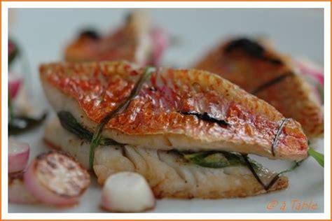 cuisiner les rougets recette n 052 filets de rougets sauce soja balades