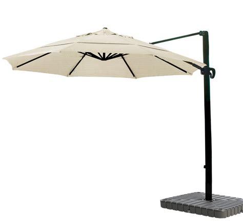 sunbrella patio umbrella 11 foot cantilever umbrella aluminum 11 foot sunbrella canvas