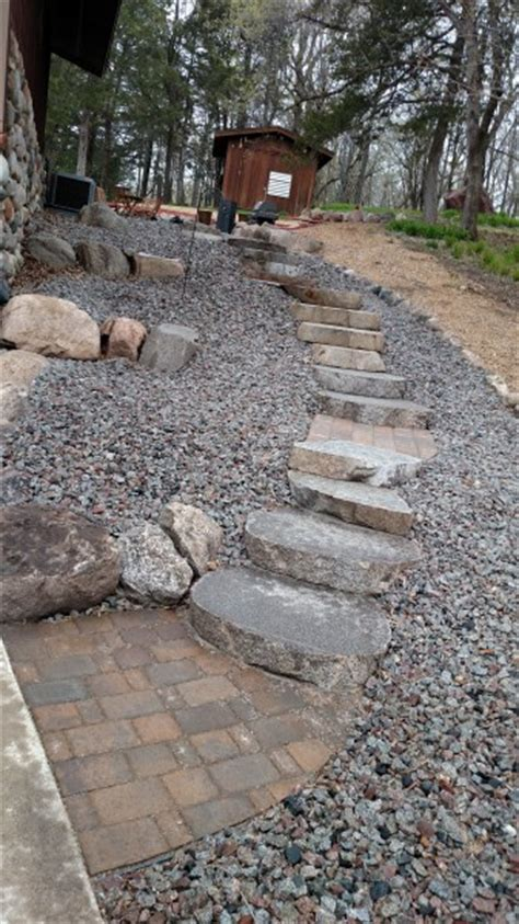 steps landscaping  st michael greenwood monticello