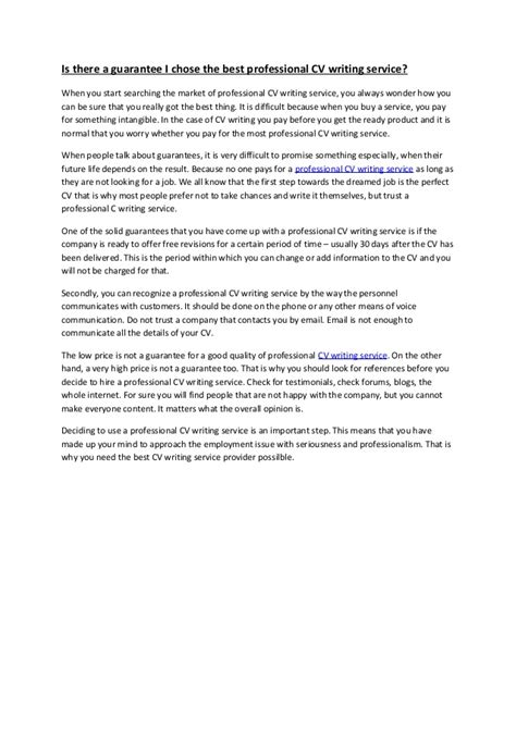 Pro Resume Writer Program Review by Professional Cv Writing Services Reviews Free Cv Review