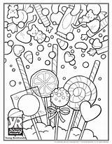 Coloring Candy Pages Sweet Printable Sugar Skull Sheets Getcolorings Christmas Adults Drawing Books Pdf Popular Lovesmag Young Web sketch template