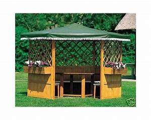 Pavillon Für Balkon : holzpavillon marburg pavillon berdachung sonnenschutz 309x309x211 gr nes dach balkon garten shop ~ Buech-reservation.com Haus und Dekorationen
