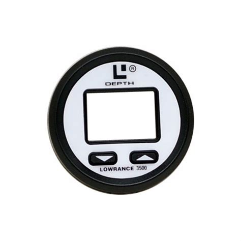 Boat Lowrance 3400 Depth Finder Replacement by Lowrance Black White Boat Depth Finder Replacement Bezel