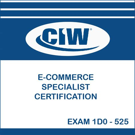 Ecommerce Specialist by Ciw E Commerce Specialist Specialist Certification