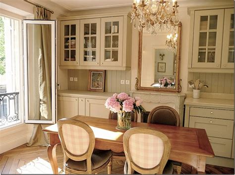 French Country Decor A Paris Kitchen  Decorating Ideas