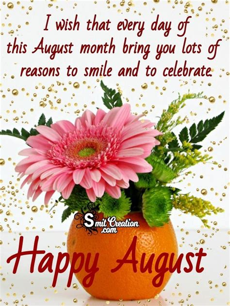 16 August Month Wishes Images, Pictures and Graphics ...