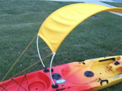 Diy Boat Bimini by Diy Kayak Bimini Top Part 2 How To Save Money And Do It