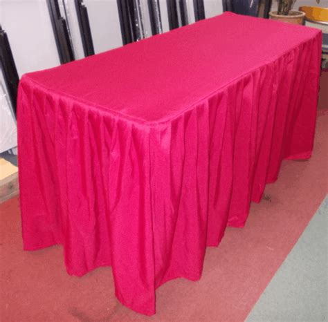 table cloth skirting design banquet table