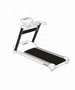 Life Fitness Treadmill Tr