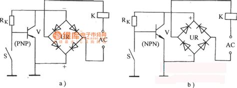 Alternating Current Electronic Relay Circuit Remote