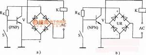Alternating Current Electronic Relay Circuit