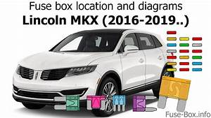 Fuse Box Location And Diagrams  Lincoln Mkx  2016