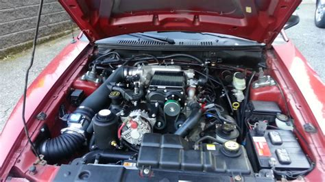2002 mustang gt 2v with kenne bell supercharger