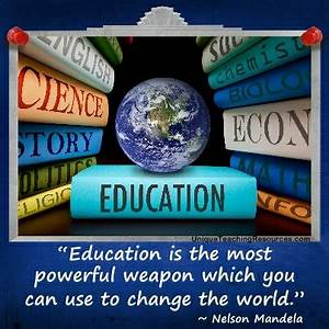 Education Is The Most Powerful Weapon Poster : powerful education quotes quotesgram ~ Markanthonyermac.com Haus und Dekorationen