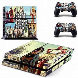 Classic Grand Theft Auto 5 Gta 5 Ps4 Console Vinyl Skin ...