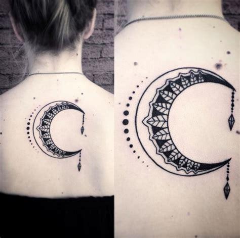moon tattoo design ideas  women  enhance  beauty