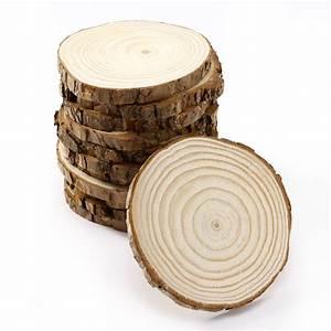 Holzscheiben Deko Hochzeit : 12 x rund holz baumscheiben holzscheiben namensschild hochzeit deko 11 12cm ebay ~ Frokenaadalensverden.com Haus und Dekorationen