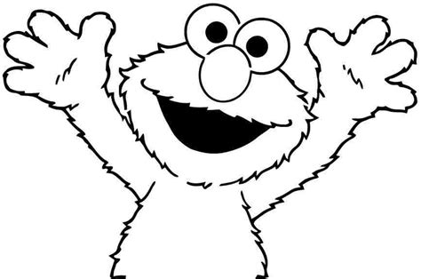 elmo coloring pages    print
