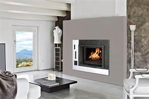 Cheminée à Pellet : foyer bois fonte flamme 775 soditherm ~ Edinachiropracticcenter.com Idées de Décoration