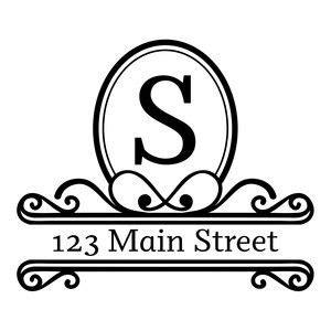 silhouette design store address monogram frame sophie gallo design silhouette store digital