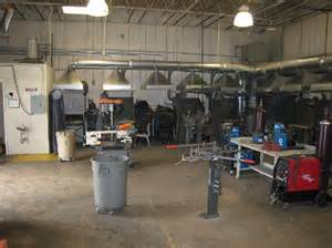 Welding Booth Layout