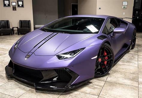 matte purple lamborghini huracan novara coupe exotic car
