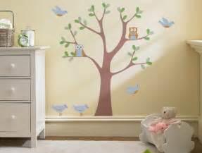 sweet nature wall decal scene modern nursery decor