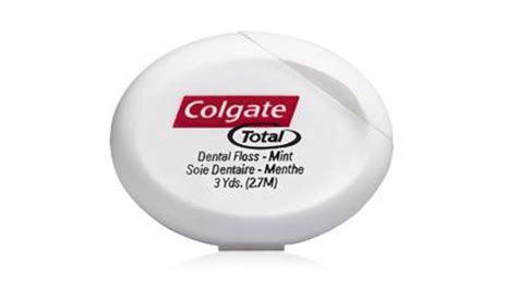 Colgate Total Wax Coated Dental Floss, wax coated floss