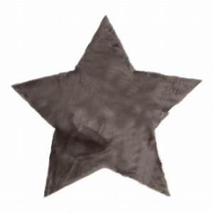 Tapis Etoile Gris : tapis toile gris fonc gris fonc pilepoil design enfant ~ Teatrodelosmanantiales.com Idées de Décoration