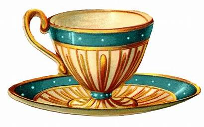 Tea Cup Victorian Teacup Clipart Clip Clipartandscrap