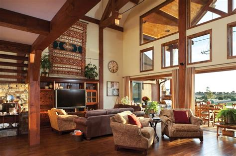 Great Room Photo Gallery  Log Homes, Timber Homes