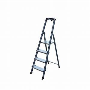 Stehleiter 8 Stufen : krause securo alu stehleiter 4 8 stufen eloxiert ~ Buech-reservation.com Haus und Dekorationen